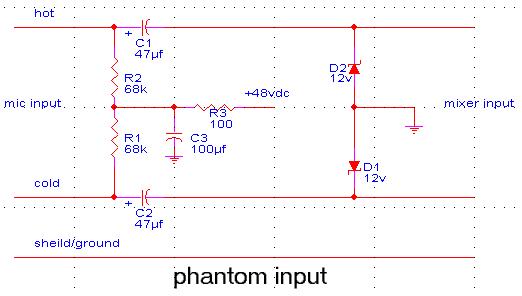 phantom power questions